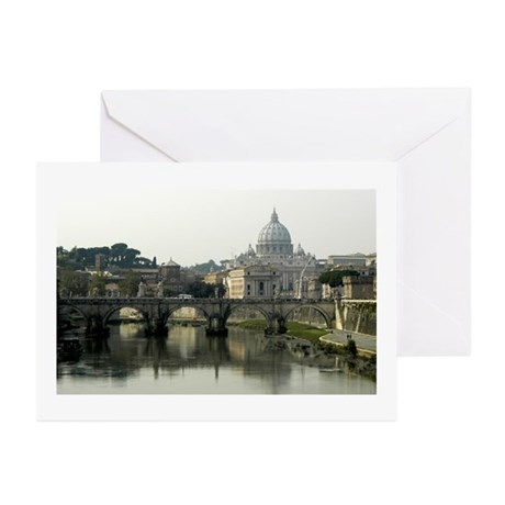Vatican City Greeting Cards (Pk of 10)