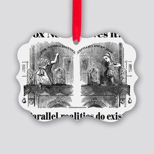 10x10AliceMirror Picture Ornament