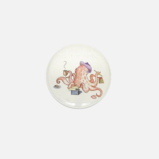nano2010_octopus_dark Mini Button