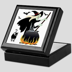 Witch  cauldron Keepsake Box