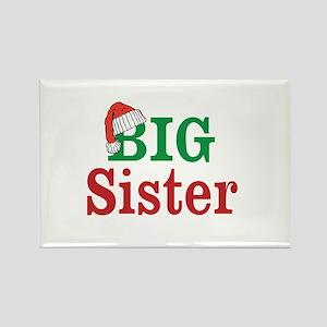 Christmas Big Sister Magnets