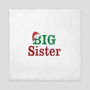 Christmas Big Sister Queen Duvet