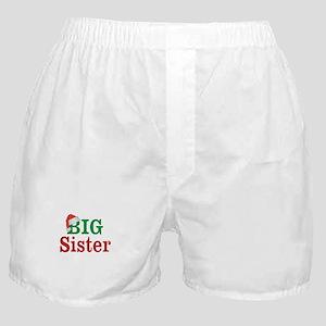 Christmas Big Sister Boxer Shorts