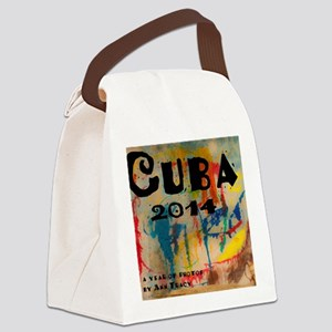 cuba 2014 calendar Canvas Lunch Bag