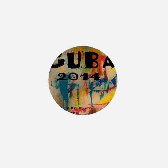 cuba 2014 calendar Mini Button