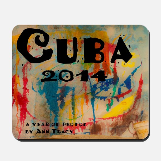 cuba 2014 calendar Mousepad