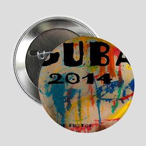 """cuba 2014 calendar 2.25"""" Button"""