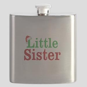 Christmas little Sister Flask