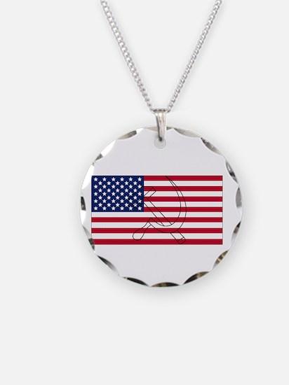 4-restore the republic dark Necklace