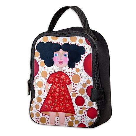 the one Neoprene Lunch Bag