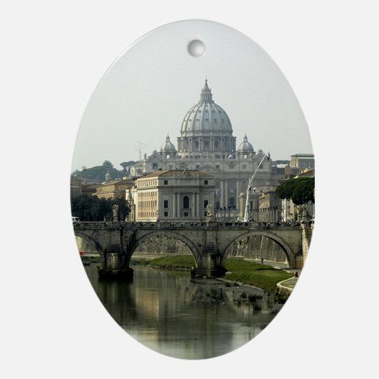 Vatican City Oval Ornament