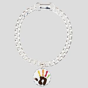 turkeyhand Charm Bracelet, One Charm