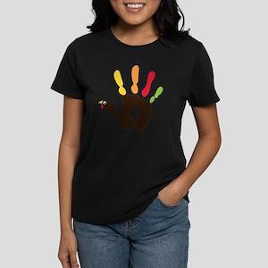 turkeyhand Women's Dark T-Shirt