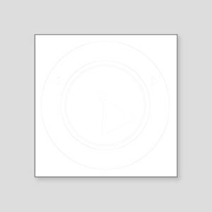 """vulcanscienceacademy02bl Square Sticker 3"""" x 3"""""""