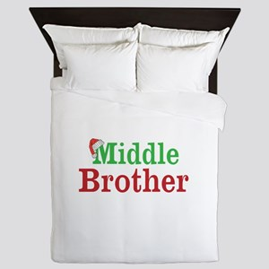 Christmas Middle Brother Queen Duvet