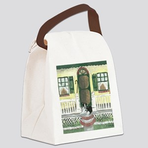 Sunny Porch Canvas Lunch Bag
