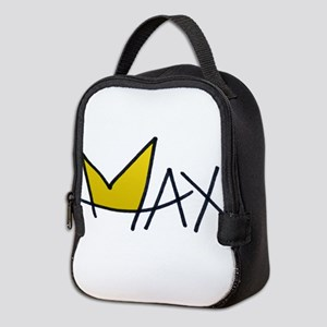 Max crown and name Neoprene Lunch Bag
