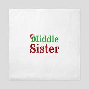 Christmas Middle Sister Queen Duvet