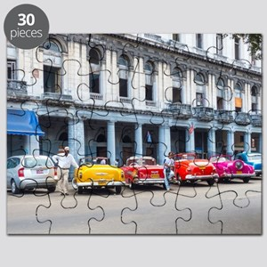 Cars of Havana Puzzle
