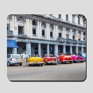 Cars of Havana Mousepad