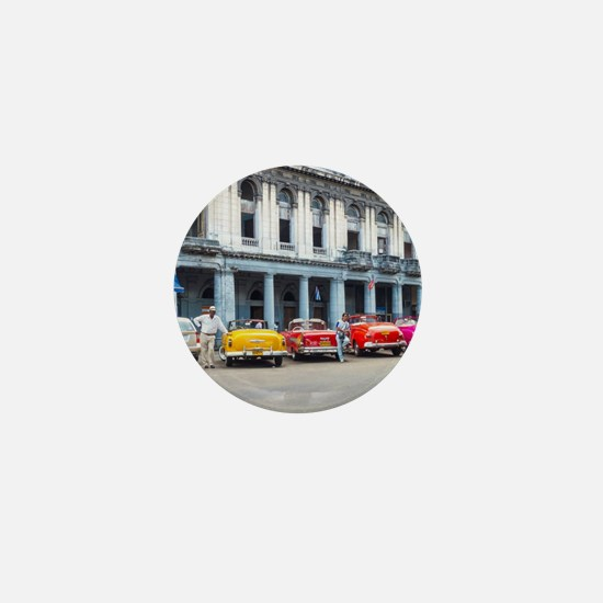 Cars of Havana Mini Button