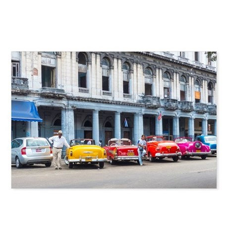 Cars of Havana Postcards (Package of 8)