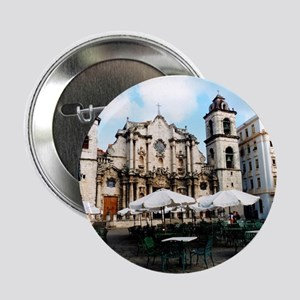 """cathedral Sq 2.25"""" Button"""