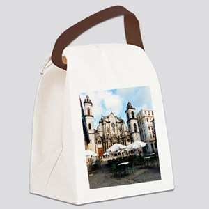cathedral Sq Canvas Lunch Bag