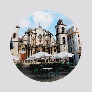 cathedral Sq Round Ornament