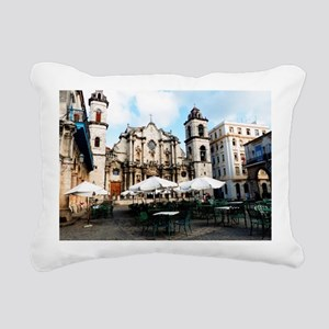 cathedral Sq Rectangular Canvas Pillow