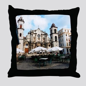 cathedral Sq Throw Pillow
