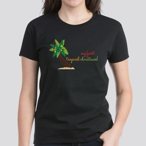 First Tropical Christmas T-Shirt