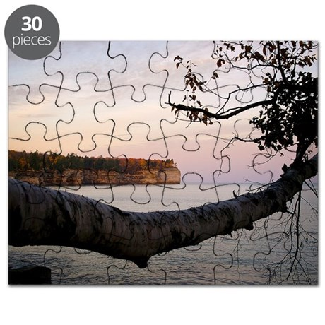 Morning View Print Fall 2007 17x11 Puzzle