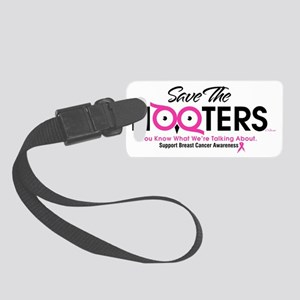 Save the Hooters CP Small Luggage Tag