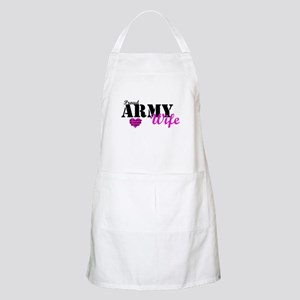 Army Wife Pink  BBQ Apron