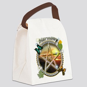 HARMONY-PENTACLE XLG Canvas Lunch Bag