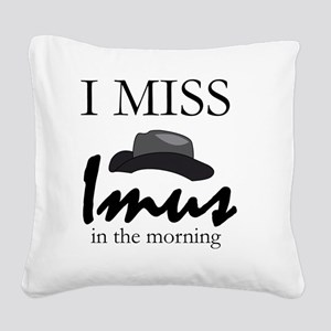 bigfan_iman_02_1600 Square Canvas Pillow