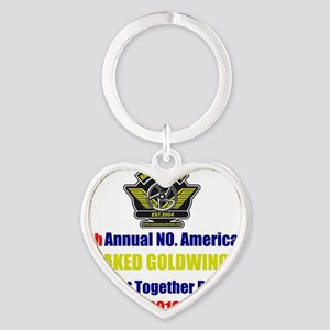 get-together-run-2010 Heart Keychain