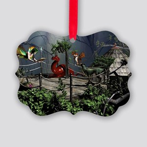 Fairytale Story Picture Ornament