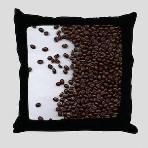 coffee_beans3 Throw Pillow