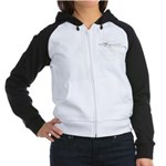Background Species Women's Raglan Hoodie