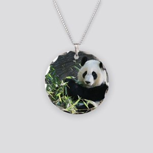 panda2 Necklace Circle Charm