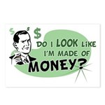 Made of Money Postcards (Package of 8)