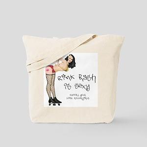 Rink Rash Tote Bag