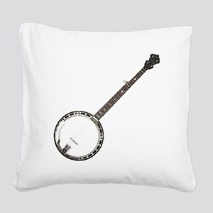 great-theory-blk-T Square Canvas Pillow