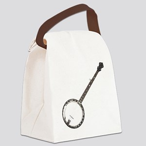 great-theory-blk-T Canvas Lunch Bag