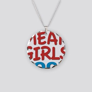 mean girls rock Necklace Circle Charm