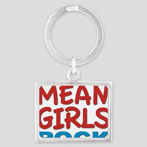 mean girls rock Landscape Keychain