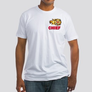 Fire Chief Fitted T-Shirt