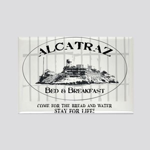 ALCATRAZ BB Rectangle Magnet